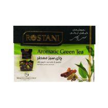 دم نوش چای سبز معطر رستنی