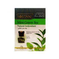 دم نوش چای سبز نعنایی رستنی