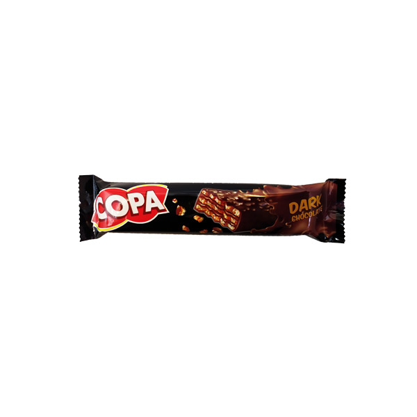 ویفر کاکائو با روکش کاکائو تلخ کوپا (12)
