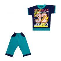 ست تی شرت و شلوار پسرانه کد 2942(q1)