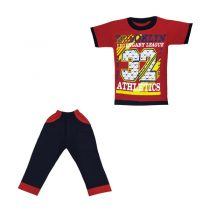 ست تی شرت و شلوار پسرانه کد 2943(41)