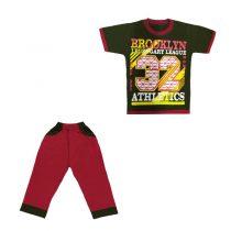 ست تی شرت و شلوار پسرانه کد 2944(r1)