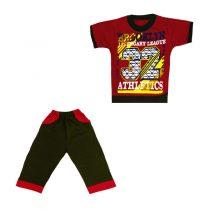 ست تی شرت و شلوار پسرانه کد 2940(e1)