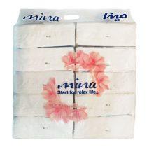 دستمال کاغذی 200 برگ اقتصادی مینا بسته 10 عددی(851)