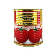 کنسرو رب گوجه فرنگی تبرک مقدار ۸۰۰ گرم