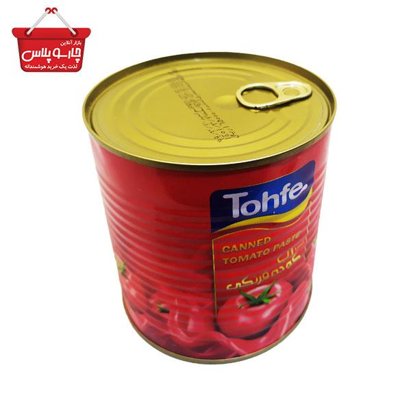 کنسرو رب گوجه فرنگی تحفه مقدار 800 گرم(01)