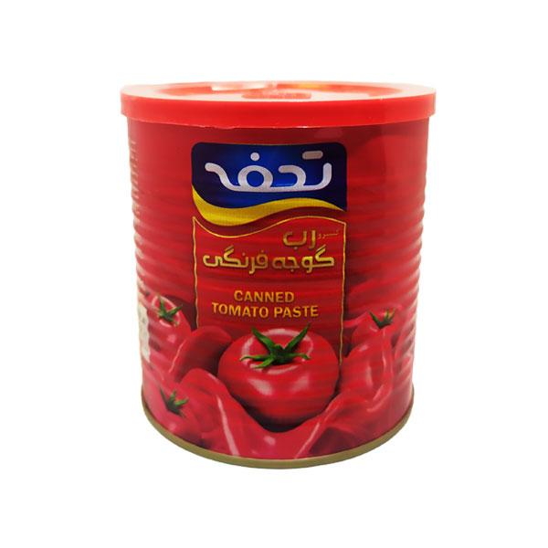 کنسرو رب گوجه فرنگی تحفه مقدار 800 گرم(03)