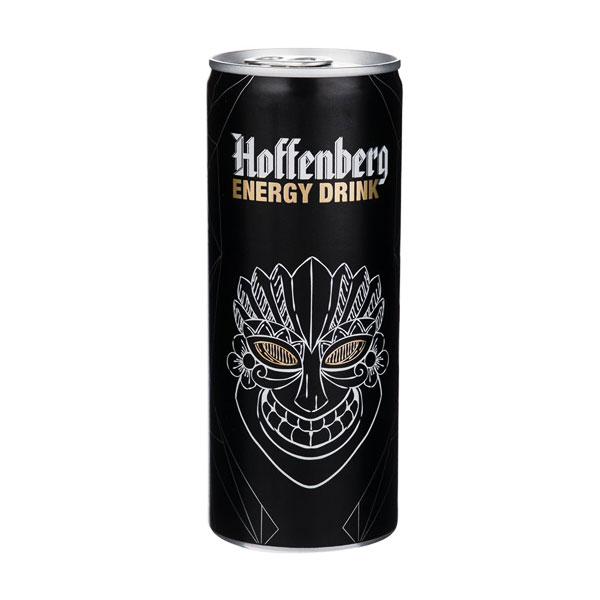 نوشابه انرژی زا گازدار هوفنبرگ حجم 250 میلی لیتر(001)