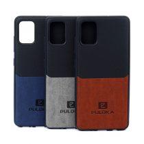 (2)قاب چرمی طرح PULOKA مناسب برای گوشی Samsung Galaxy A51