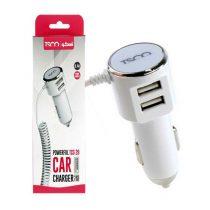(2)شارژر فندکی سیم وصل Micro USB تسکو مدل TCG 29 + دو خروجی USB