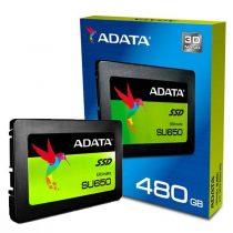 هارد SSD اینترنال ADATA مدل Ultimate SU650 ظرفیت 480 گیگابایت