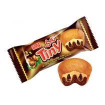 کیک تاینی کرمدار کاکائویی فندقی شیرین عسل مقدار 70 گرم(2)