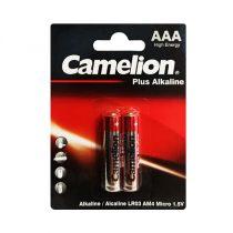 باتری آلکالاین نیم قلم Camelion مدل Plus Alkaline بسته دو عددی