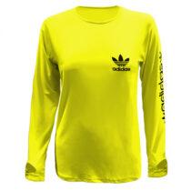 تی شرت آستین بلند ورزشی زنانه کد 1280