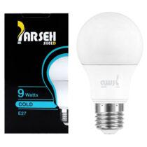 لامپ حبابی LED پارسه شید 9 وات پایه E27