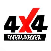 برچسب بدنه خودرو طرح 4X4 OVERLANDER کد 1605